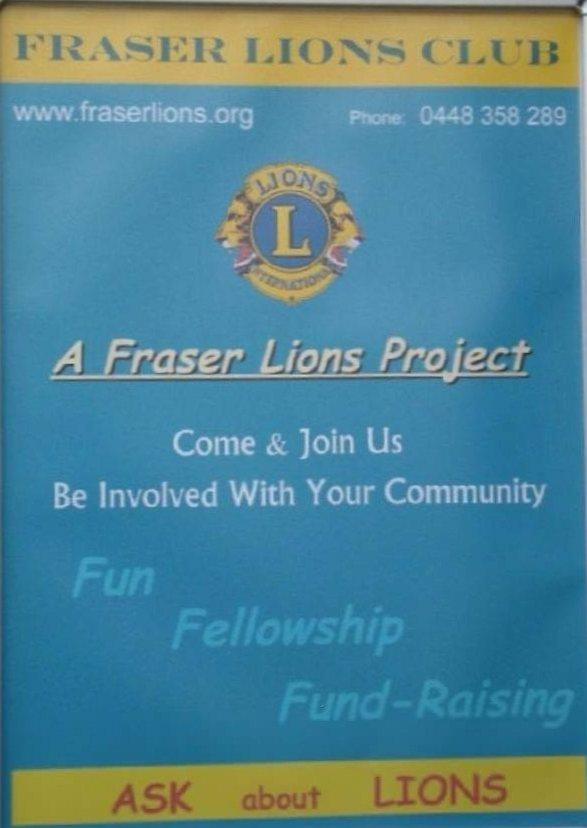 Fraser Lions Hervey Bay